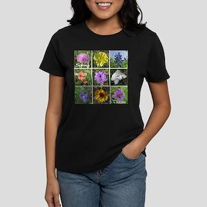 Texas Wildflowers Women's Dark T-Shirt