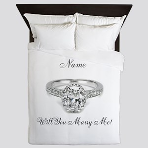 Engagement Queen Duvet