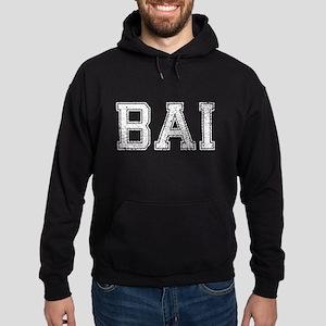 BAI, Vintage, Hoodie (dark)