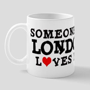 London: Loves Me Mug