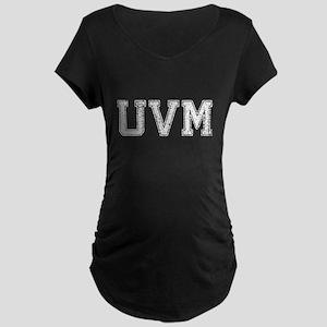 UVM, Vintage, Maternity Dark T-Shirt