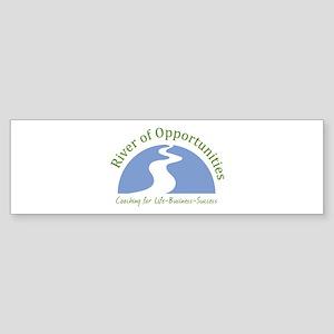 River of Opportunities Sticker (Bumper)