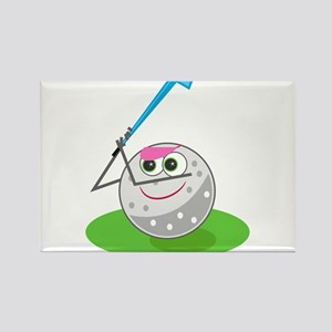 Golf Ball! Rectangle Magnet