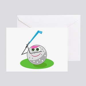 Golf Ball! Greeting Cards (Pk of 10)