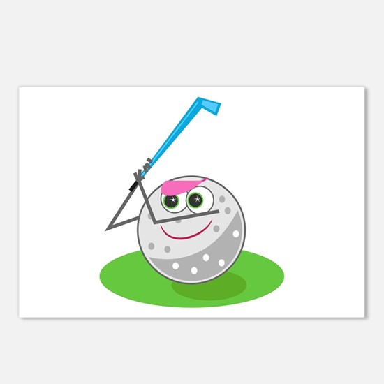 Golf Ball! Postcards (Package of 8)