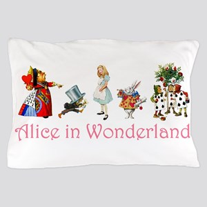 Alice in Wonderland Pillow Case
