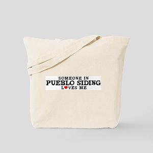 Pueblo Siding: Loves Me Tote Bag