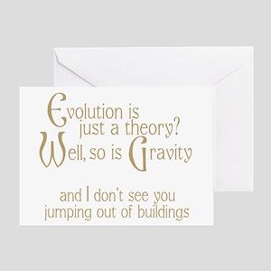 Evolutionary Theory Greeting Card