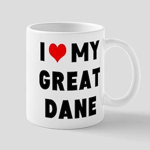 luv my great dane Mug
