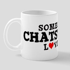 Chatsworth: Loves Me Mug