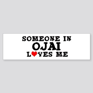 Ojai: Loves Me Bumper Sticker