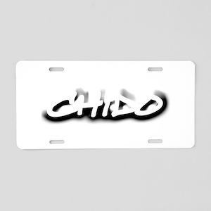 Chido Aluminum License Plate