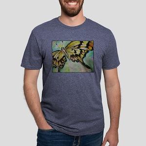 Butterfly, nature art! Mens Tri-blend T-Shirt
