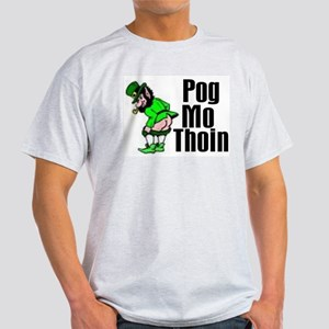 Pog Mo Thoin Ash Grey T-Shirt