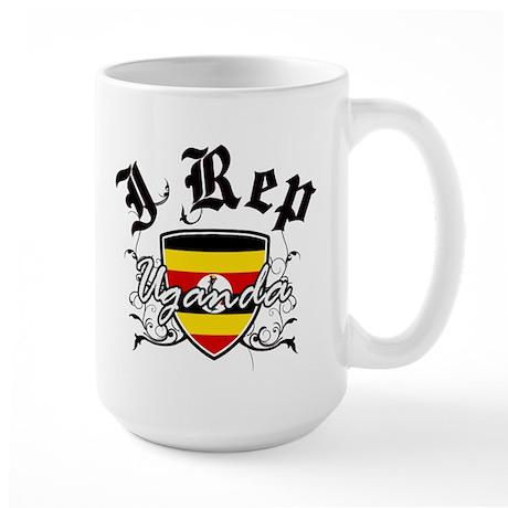 I Rep Uganda Large Mug