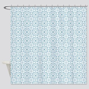 Amara Cornflower Shower Curtain
