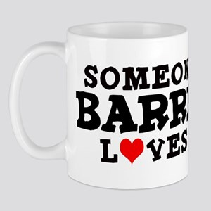 Barrett: Loves Me Mug