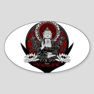 Gautama Buddha Sticker (Oval)