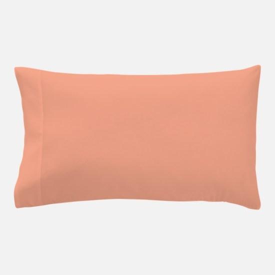 Amara plain salmon Pillow Case