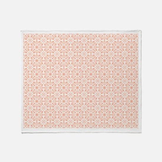 Amara Salmon Throw Blanket