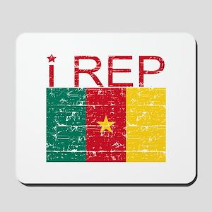 I Rep Cameroon Mousepad