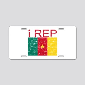 I Rep Cameroon Aluminum License Plate