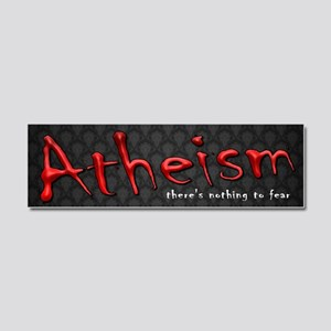 Nothing to Fear Car Magnet 10 x 3