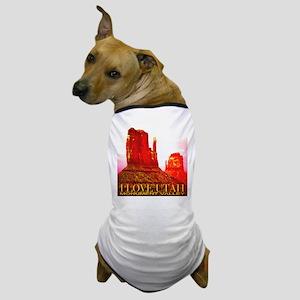 I Love Utah Monument Valley Dog T-Shirt