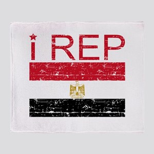 I Rep Egypt Throw Blanket