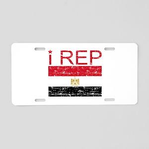 I Rep Egypt Aluminum License Plate