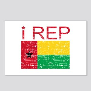 I Rep Guinea-Bissau Postcards (Package of 8)