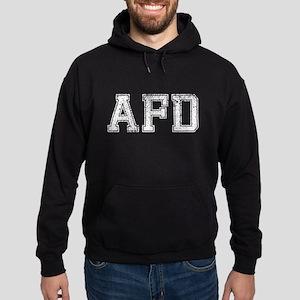 AFD, Vintage, Hoodie (dark)