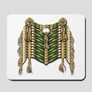Native American Breastplate 6 Mousepad