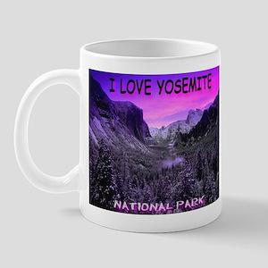 I Love Yosemite National Park Mug