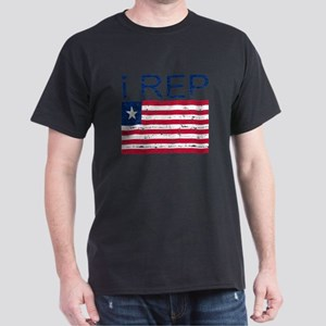 I Rep Liberia Dark T-Shirt