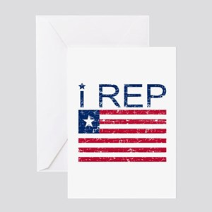 I Rep Liberia Greeting Card