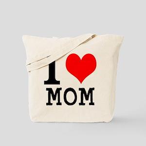 I LOVE MOM. Tote Bag