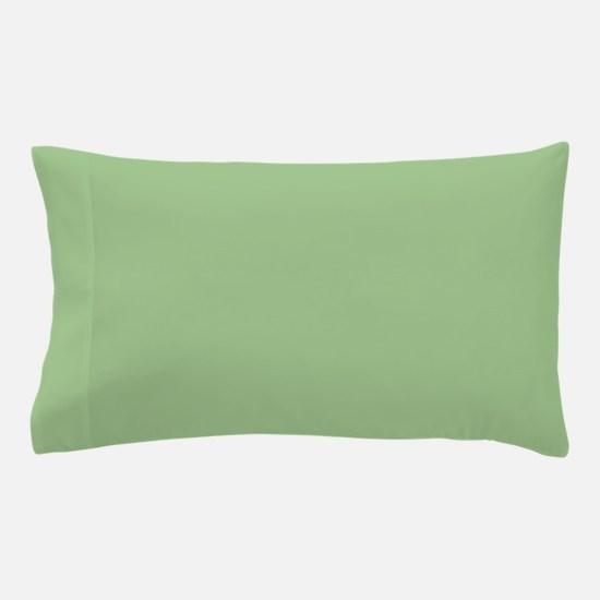 Amara plain pistachio Pillow Case
