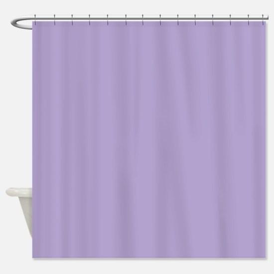 Amara plain lavender Shower Curtain