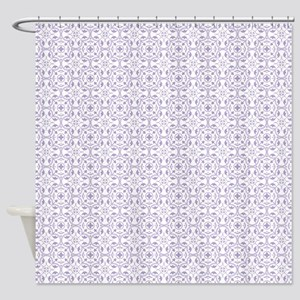 Amara Lavender Shower Curtain