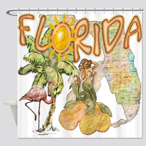 Florida State Shower Curtains