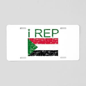 I Rep Sudan Aluminum License Plate