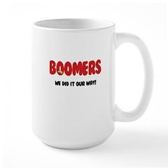 Baby Boomer Large Mug