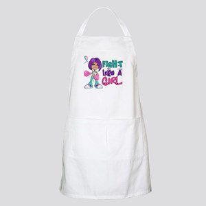 Licensed Fight Like a Girl 42.8 Thyroid Canc Apron