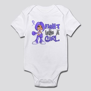 Fight Like a Girl 42.8 Stomach Cancer Infant Bodys