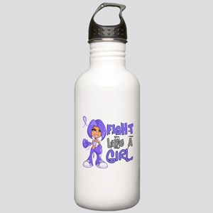 Fight Like a Girl 42.8 Stomach Cancer Stainless Wa