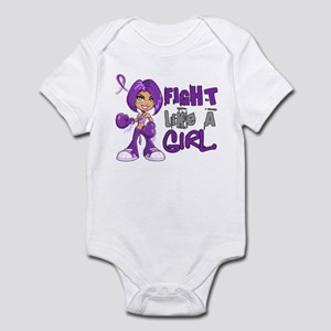 Fight Like a Girl 42.8 Sarcoidosis Infant Bodysuit