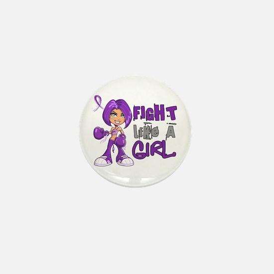 Fight Like a Girl 42.8 Sarcoidosis Mini Button