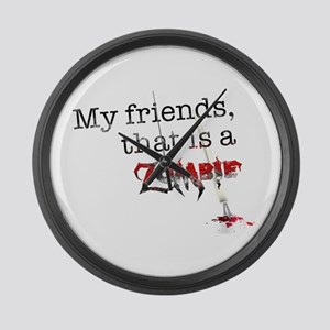 My friends, that is a zombie Large Wall Clock
