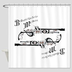 Pistols Shower Curtain